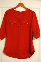 41 Hawthorn filbert crimson blouse