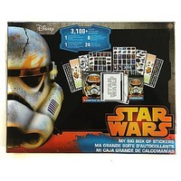 Star Wars Big Box Of Stickers - 3100 Stickers