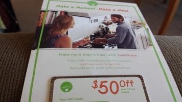 HelloFresh $50 Gift Card