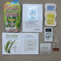 Face Masks & Treatments Sample Pack (from several sub boxes)