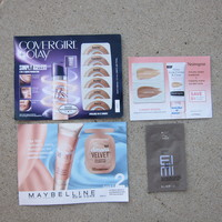 Liquid Foundation Sample Pack (from several sub boxes)