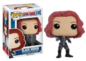 Funko Pop Captain America Black Widow #132
