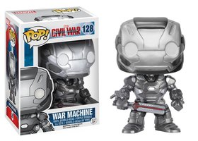 Funko Pop Captain America War Machine #128