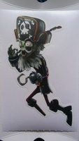 Plant Vs Zombie:GW2 Repositionable Wall Decals
