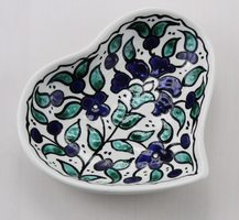 Hand-Painted Heart Dish