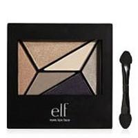Geometric 6 pc. Eyeshadow Pallet - Beige/Browns