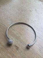 Jules Smith Silver Pave Bracelet