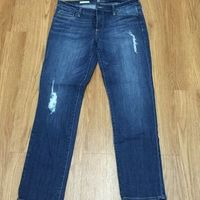 Kut from the Kloth Catherine aka Kate Distressed Boyfriend Jeans