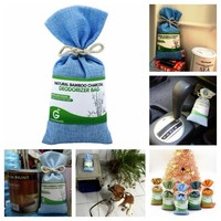 Natural Bamboo Charcoal Deodorizer Bag
