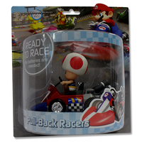 MarioKart Wii Pull-Back Racer (Toad)