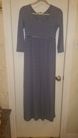 Fantastic Fawn Striped Maxi Dress