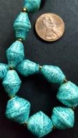 31bits TEAL SPARKLE necklace