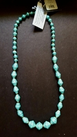 31 Bits Shine On Teal Sparkle Necklace