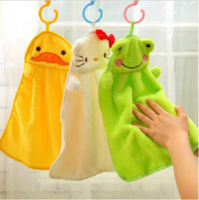 Kids Animal Hand Towel in Soft Microfiber