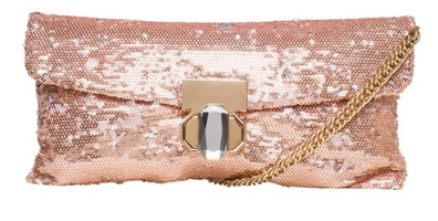 Deux Lux Stardust Clutch in Rose Gold