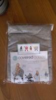 Covered goods nursing cover - gray