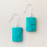 STARFISH PROJECT ALANIS TURQUOISE EARRINGS
