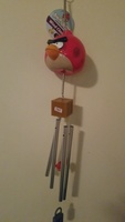 Angry birds wind chime