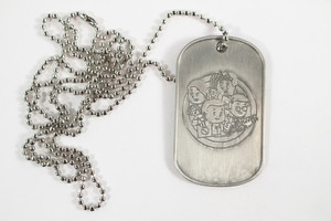 Ghostbusters Paranormal Dog Tag