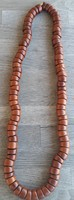 Kenneth Lane Chunky Wooden Bead Necklace