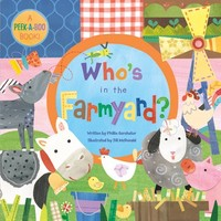 """Who's in the Farmyard?"" Toddler Book"