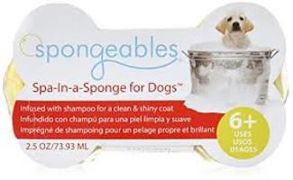 Spongeables Spa-In-a-Sponge for Dogs