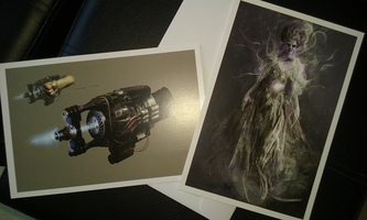 Ghostbusters Set of 2 Pre-Vis Art Prints