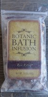 Pura Botanica Botanic Bath Infusion Rose Retreat Bath Salts, 1 count  3.6 oz. Bag