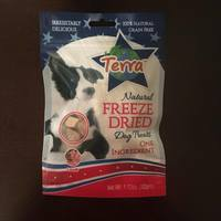 Terra Natural Freeze Dried Dog Treats