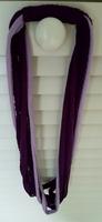 Purple Braided Scarf
