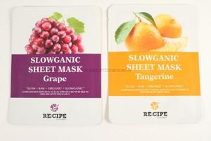 Recipe Slowganic Sheet Mask – Grape
