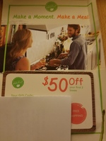 Hello Fresh 50$ OFF first 2 boxes coupon