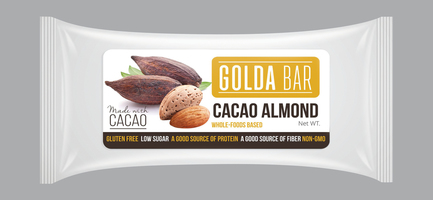 Golda Bar Cacao Almond