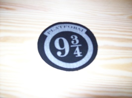Harry Potter Platform 9 3/4 Patch