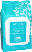 ACURE Coconut + Argan Cleansing Towelettes
