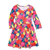Fabkids Floral Skater Dress (XL, 11-12 yrs)