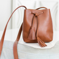 Shaffer LA Leather Bucket Bag