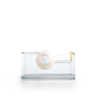 russell+hazel Acrylic and Gold Tape Dispenser