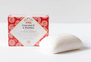 Nubian Heritage Coconut & Papaya Polishing and Renewing Bar Soap