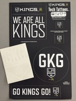 LA Kings Tech Tatoos and Sticker