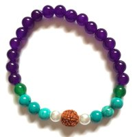 High Chi Vegan Inner Peace Power Mala Bracelet