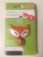 Foxy fox 2 port splitter