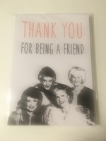 Set of 5 golden girls cards