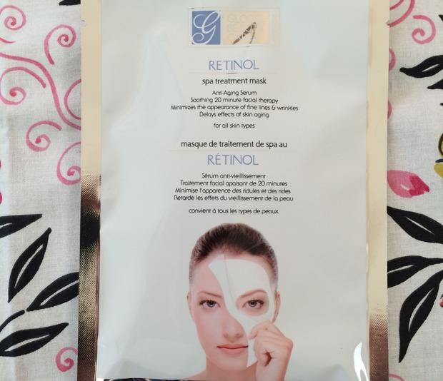 Global Beauty Care Retinol Spa Treatment Mask