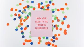 Open Your Heart Print