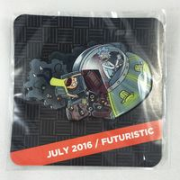 Rick and Morty Loot Crate DX July 2016 Pin