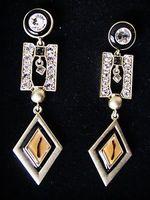 Jewelmint Geometric Shift Earrings