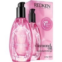 Redken Glow Dry Diamond Oil Style Enhancing 3.4-ounce Oil