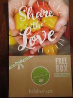Free Hello Fresh box worth $79.95