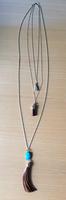 Multi-strand Fringe Necklace